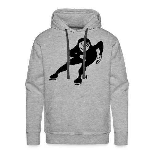 Speed skater - Men's Premium Hoodie