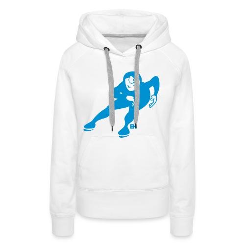 Speed skater - Women's Premium Hoodie