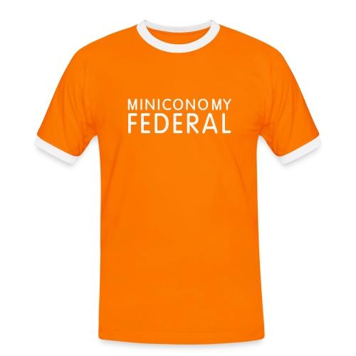 Miniconomy NL Shirt (Glitter print) - Men's Ringer Shirt