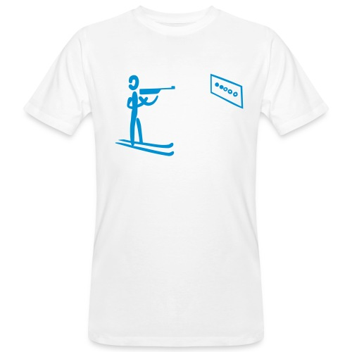 Biathlon Shirt - Männer Bio-T-Shirt
