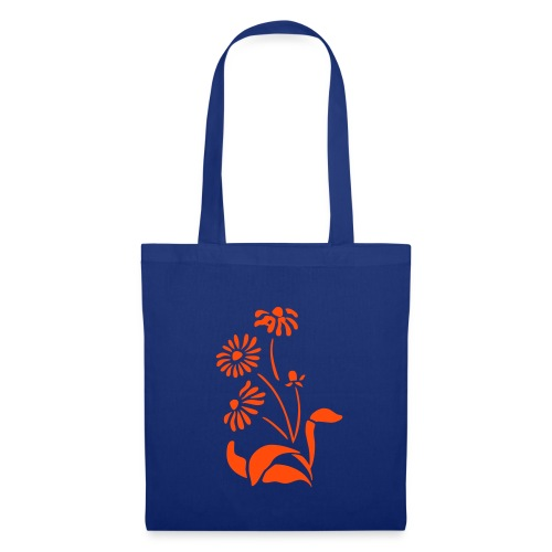 sac  à  main  fleurs - Tote Bag