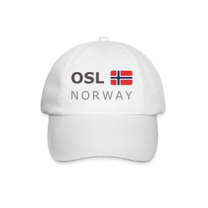 Base-Cap OSL NORWAY dark-lettered  - Baseball Cap