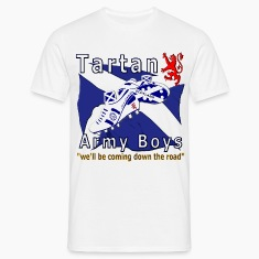 tartan army boys_coming  T-Shirts