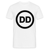 T-Shirts ~ Men's T-Shirt ~ DD white men