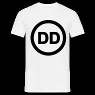 T-Shirts ~ Men's T-Shirt ~ DD white men