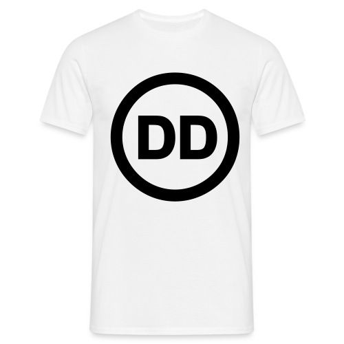 DD white men - Men's T-Shirt