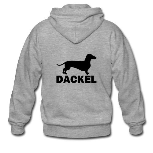 Dackel - Männer Premium Kapuzenjacke