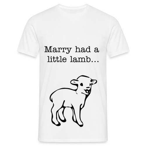 Marry Had a ... Shirt  - Männer T-Shirt