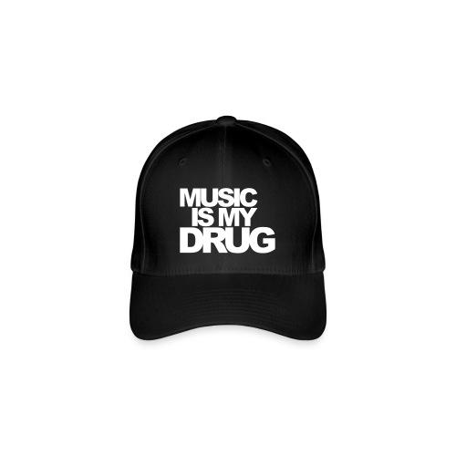 Music is my drug pet - Flexfit baseballcap