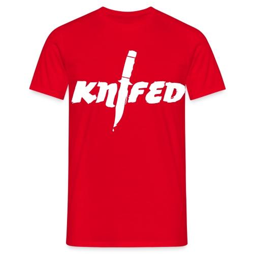 Schlitzer A.G. - Knifed - Männer T-Shirt