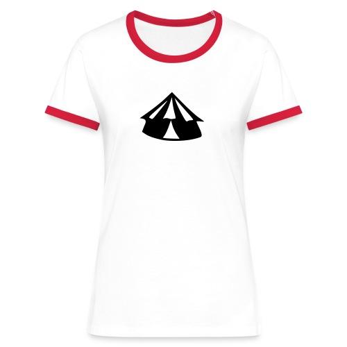 zirkus-paedagogik.de - Frauen Kontrast-T-Shirt