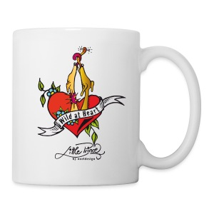 Wild at heart! - Tasse