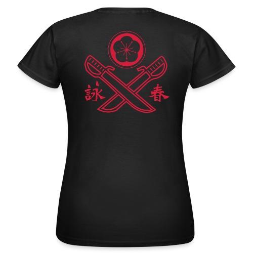 Wing Tsun Doppelmesser Girls - Frauen T-Shirt