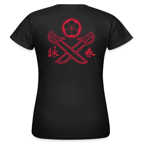 Wing Tsun Doppelmesser Girls - Frauen T-Shirt