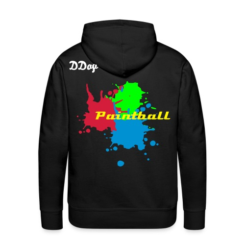 Sweat - DDoy Paintball - Sweat-shirt à capuche Premium pour hommes