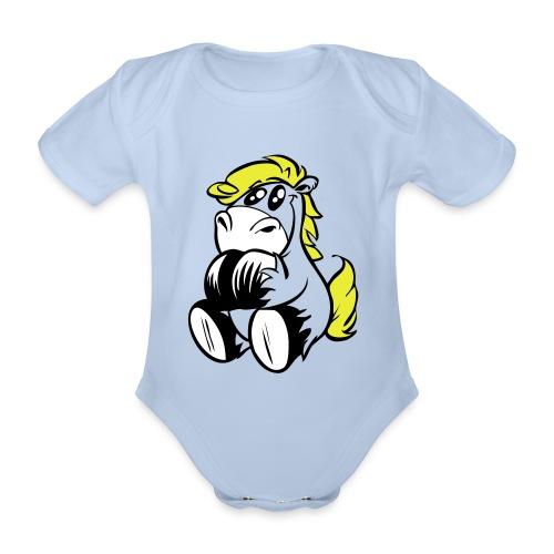 Baby Body Butterblume - Baby Bio-Kurzarm-Body