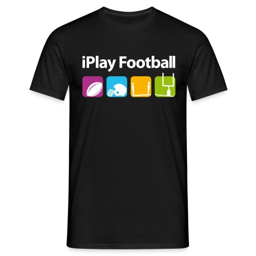 iPlay American Football - Männer T-Shirt