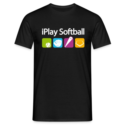 iPlay Softball - Männer T-Shirt