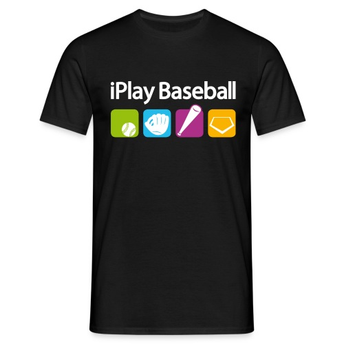 iPlay Baseball - Männer T-Shirt