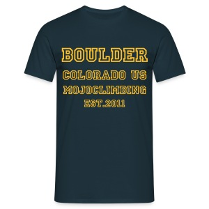 Boulder COLLEGIATE - Men's T-Shirt