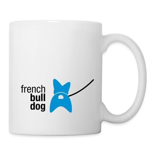 Tasse - Bulldogge,Französische Bulldogge,Hinterteil,Hund,Kraftpaket,Mops,Po,bullig,french bulldog,große Ohren,kein Mops,knuffig,kompakt,kräftig,liebenswert,muskulös,niedlich