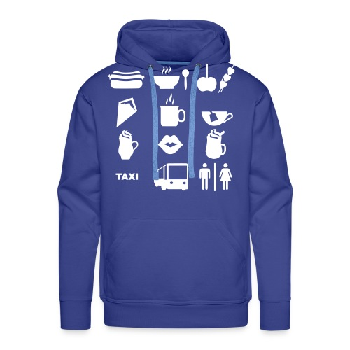 Kapuzenpullover für den Weihnachtsmarkt - Männer Premium Hoodie