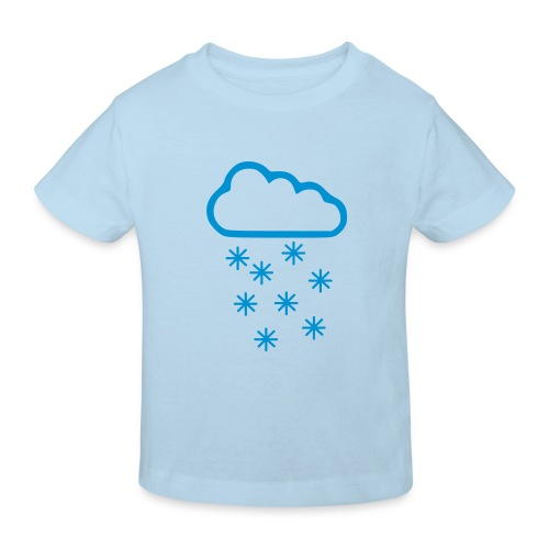 snowcloud eco - Ekologisk T-shirt barn