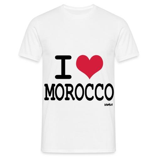Tshirt  I LOVE MAROCCO - T-shirt Homme