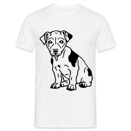 Love my dog Jack Russel - T-shirt Homme
