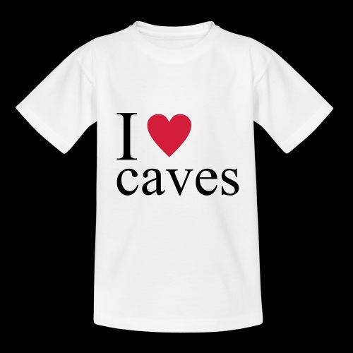 I love caves - Maglietta per ragazzi