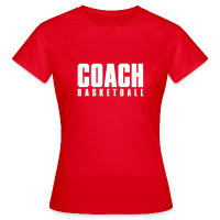 Women's T-Shirt with design Basketball Coach