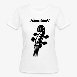 Exclusive for women rockabilly band members! - Women's Organic T-shirt