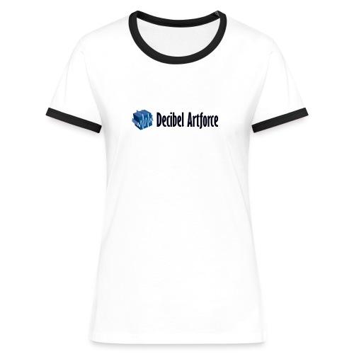 Girlie Contrast Shirt Decibel Artforce - Frauen Kontrast-T-Shirt