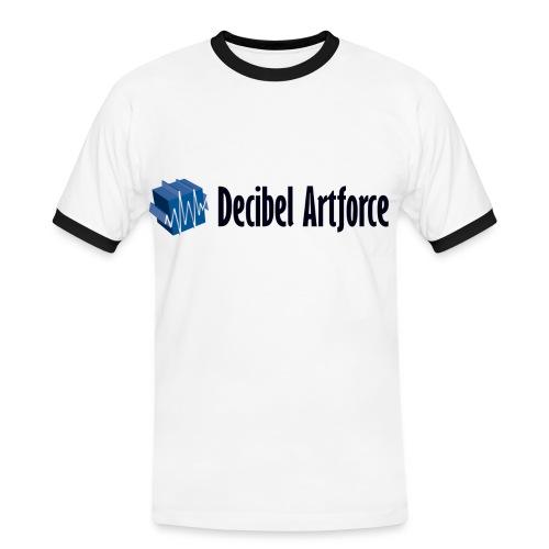 Men's T-Shirt Contrast - Männer Kontrast-T-Shirt
