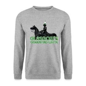Glasgow's Green & White - Men's Sweatshirt