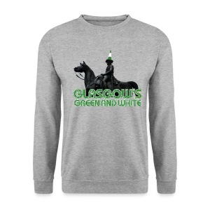 Glasgow's Green & White - Men's Sweatshirt