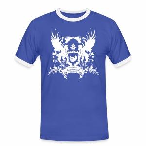 Bananenheld - Männer Kontrast-T-Shirt