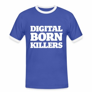 Born Digital - Männer Kontrast-T-Shirt