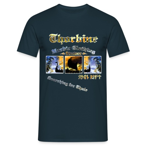 Männer T-Shirt klassisch Thule - Männer T-Shirt