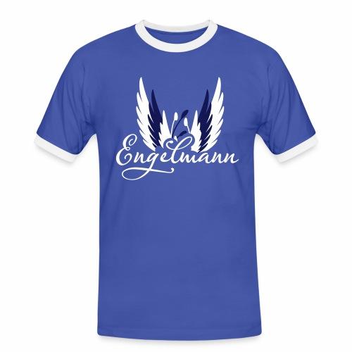 Engelmann - Männer Kontrast-T-Shirt