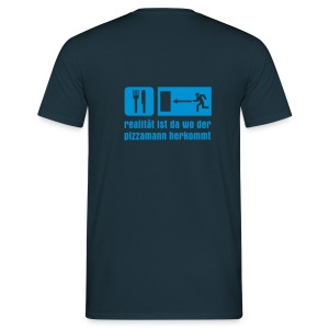 pizza reale - Männer T-Shirt