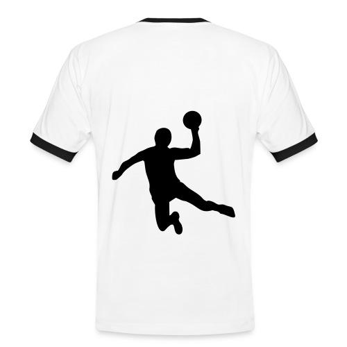 T-shirt contrasté Homme - hand,handball,sport
