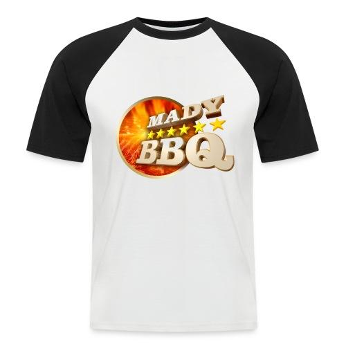 Männer BBQ-TShirt 2 Farbig - Männer Baseball-T-Shirt