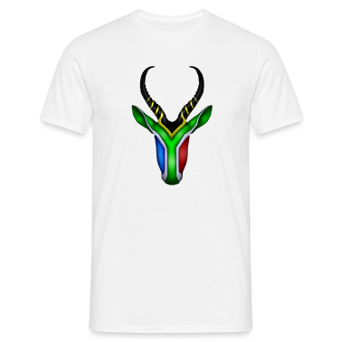 Springbok Flag - South Africa T-Shirts