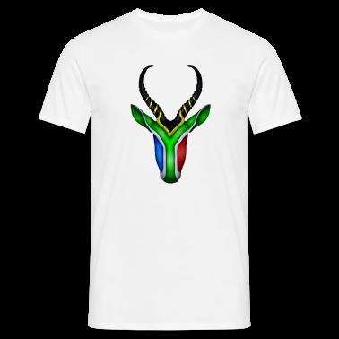 Springbok Flag - South Africa T-Shirts