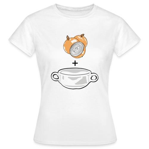 Classic Onion Soup - Women's T-Shirt