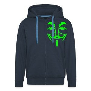 Anonymous Hooded Jacket - Men's Premium Hooded Jacket