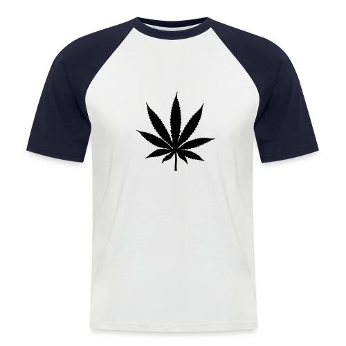 Remera Canabis - Camiseta béisbol manga corta hombre