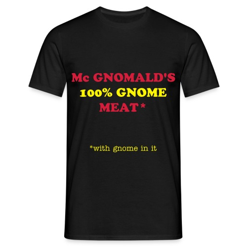 T shirt homme: 100% Gnome - T-shirt Homme