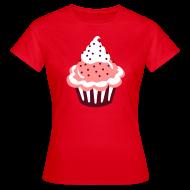 T-shirts ~ Vrouwen T-shirt ~ Cupcake